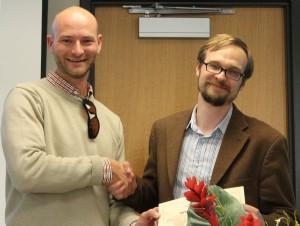 20-Faculty Teaching award to Nicholas Nagle